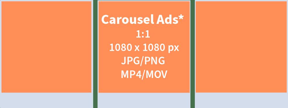 IG Carousel Ads Specs