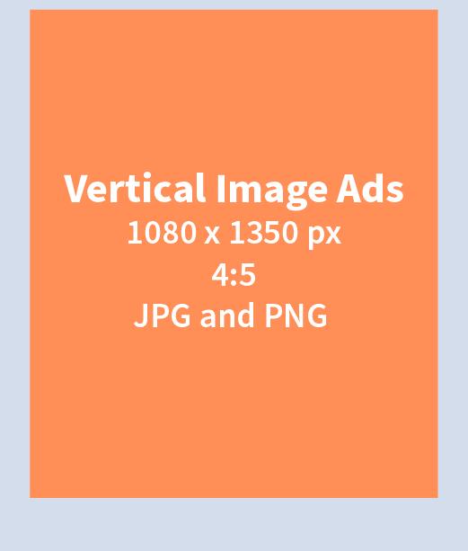 IG Vertical Image Ads Specs
