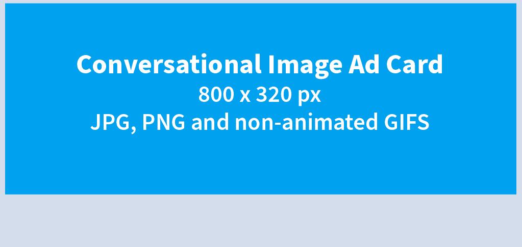 TW Conversational Image Ad Card Specs