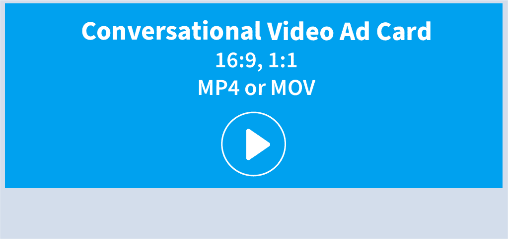 TW Conversational Video Ad Card Specs