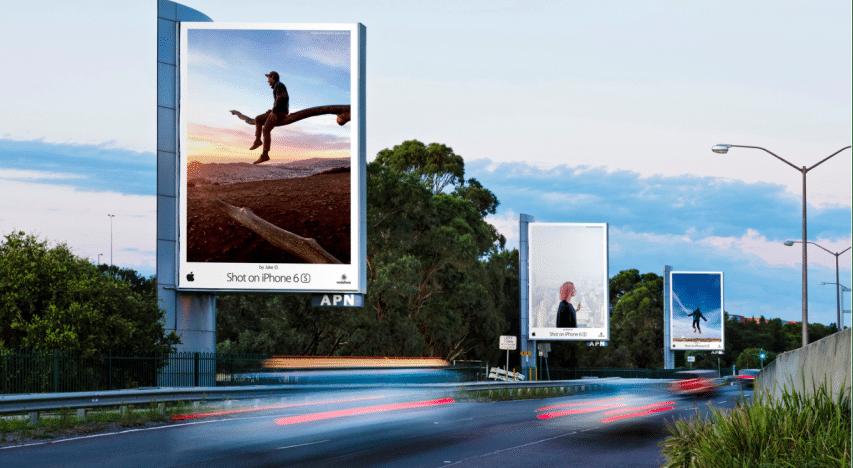 Apple Billboards Campaign 2
