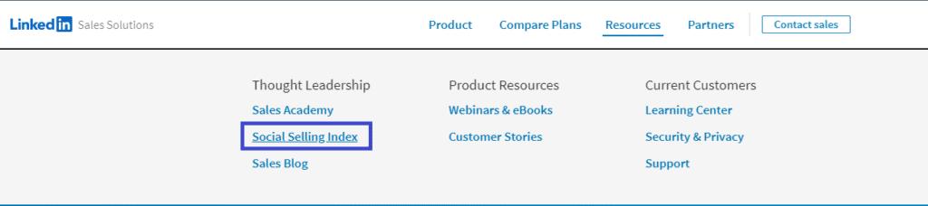 LinkedIn Sales Solutions navigator